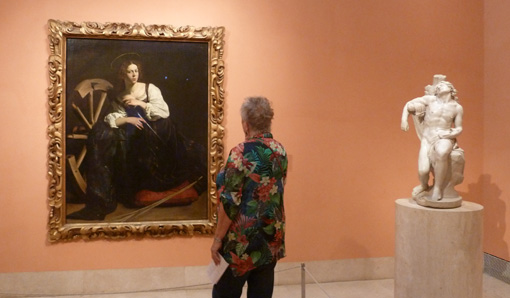 Hoe je met Duits staalgeld goede kunstsier maakt in het Museo Thyssen-Bornemisza in Madrid