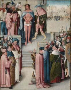 Ecce homo, door een navolger, vermoedelijk uit atelier van Bosch