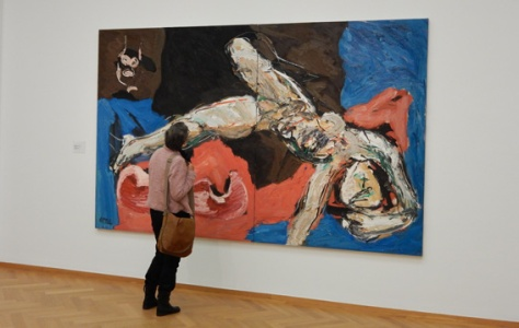 expositie Karel Appel in Haags Gemeentemuseum