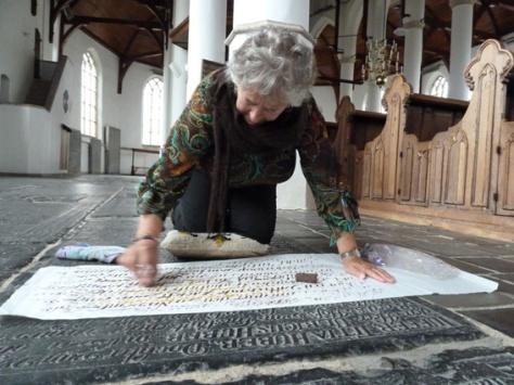 rubben in de Martinikerk van Franeker