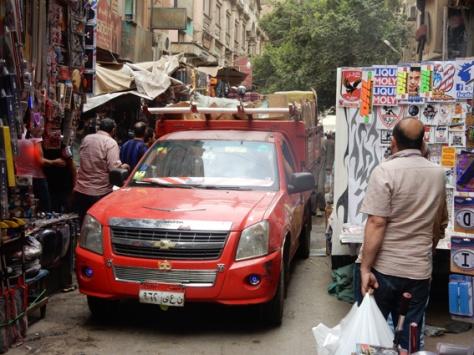 de chaos van Caïro