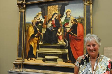 Rafaël, Madonna met kind en heiligen