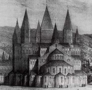 achterkant van de Maior Ecclesia