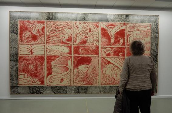 De logische lijn van middeleeuwer Dante  naar Cobrakunstenaar Alechinsky en komiek John Cleese